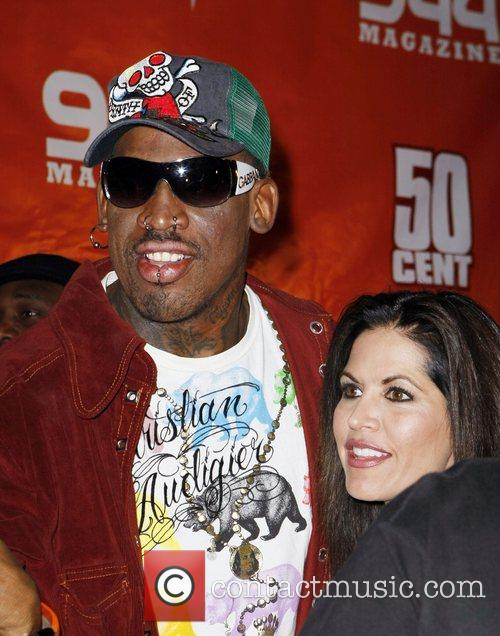 Dennis Rodman and Guest 1