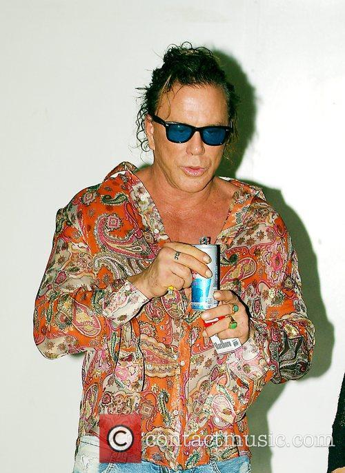 Mickey Rourke 944 Miami magazine one year anniversary...