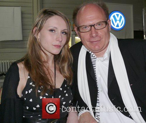 Hermann Vaske and guest attend the ADC (Art...