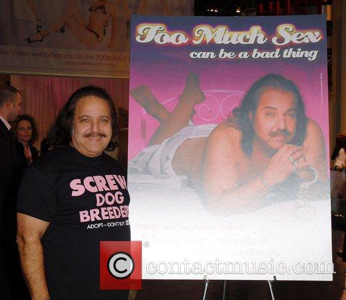 Ron Jeremy at the Adult Entertainment Expo Las...