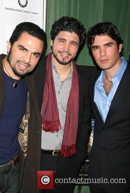 Manny Perez, Alejandro Monteverde and Eduardo Verastegui 2