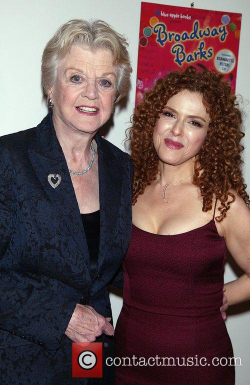Angela Lansbury and Bernadette Peters Book party for...