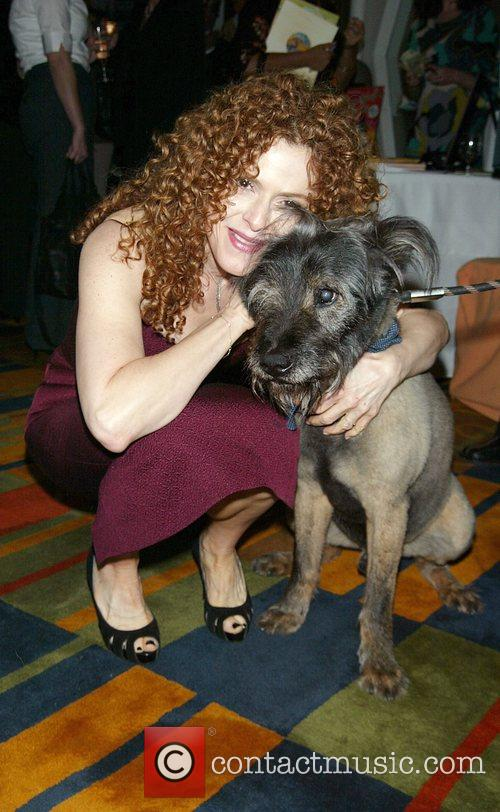 Bernadette Peters and Her Dog Kramer 5