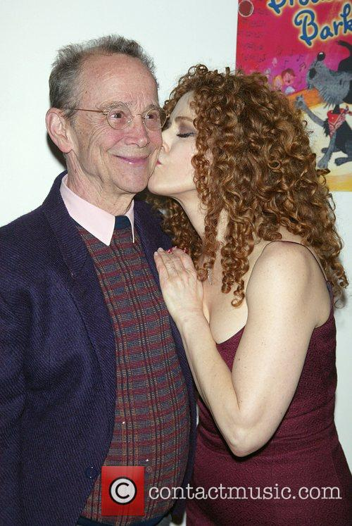 Joel Grey and Bernadette Peters Book party for...