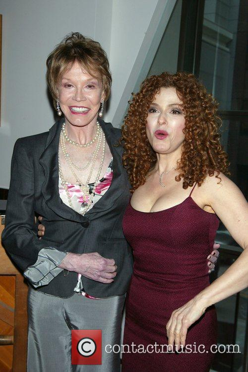 Mary Tyler Moore and Bernadette Peters 2
