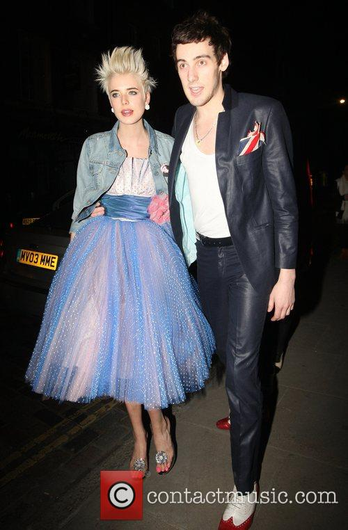Agyness Deyn and Nick Grimshaw 4