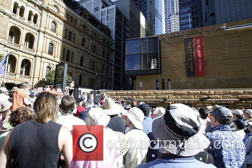 Held at the Museum of Sydney forecourt