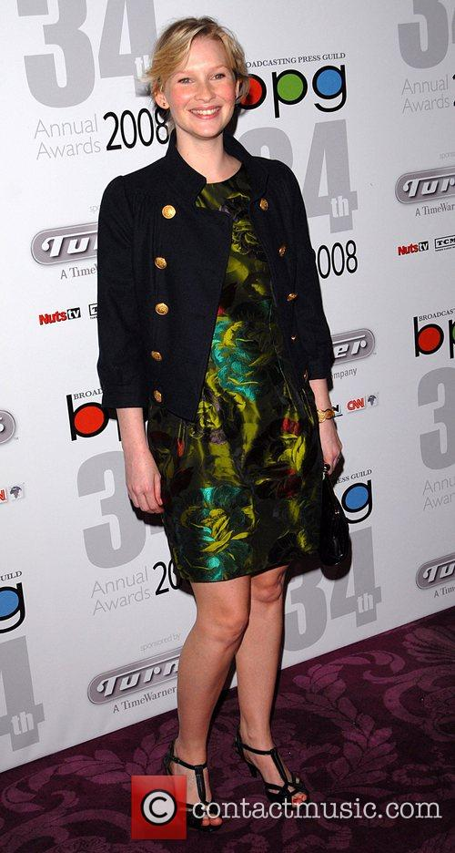 Joanna Page The Broadcasting Press Guild Awards lunch...