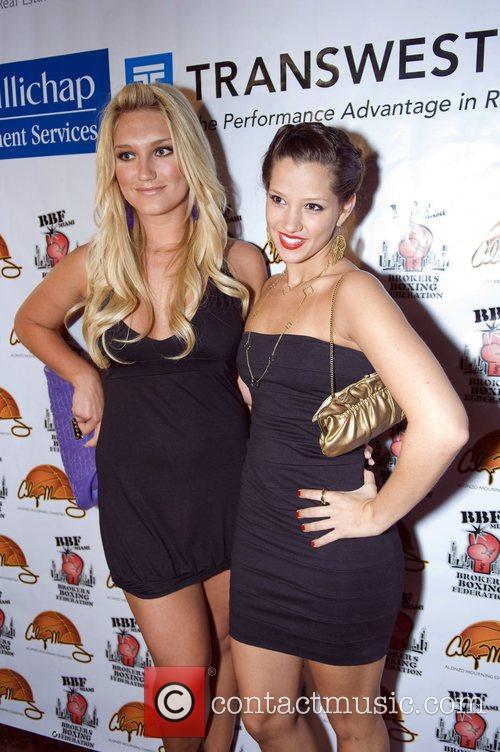Brooke Hogan and Ashley Menendez arrive at the...