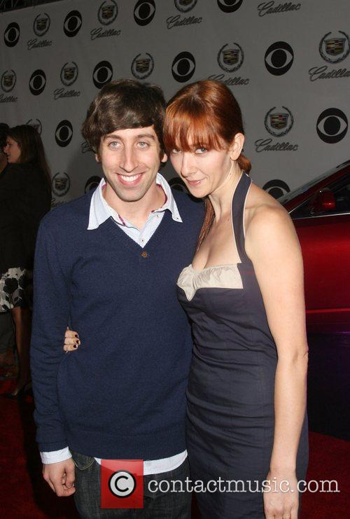 Simon Helberg and wife The Cadillac of Premieres...