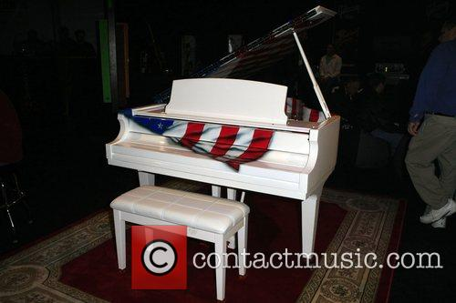A piano at the 2008 International CES (Consumer...