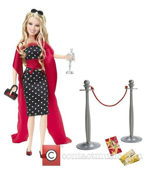 Hilary Duff Becomes A Barbie Doll  Both...