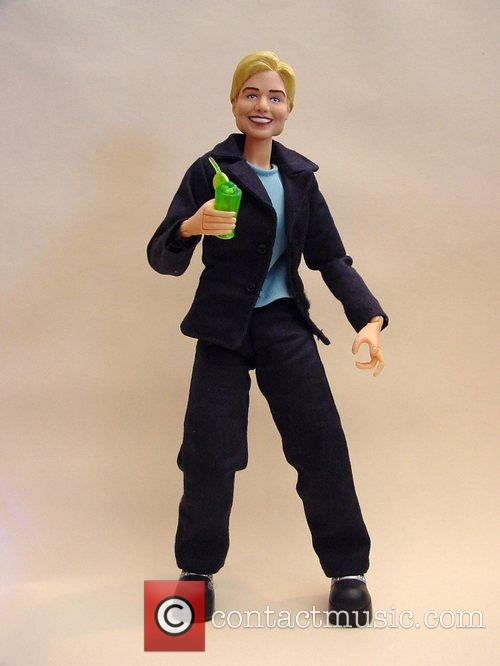 Hillary Clinton (presidential candidate) Hero Builders Action Figure....