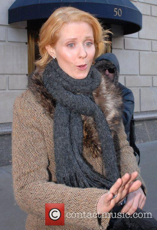 Cynthia Nixon and Sex And The City 1