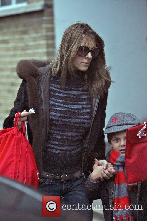 Elizabeth Hurley and Son Damian 6