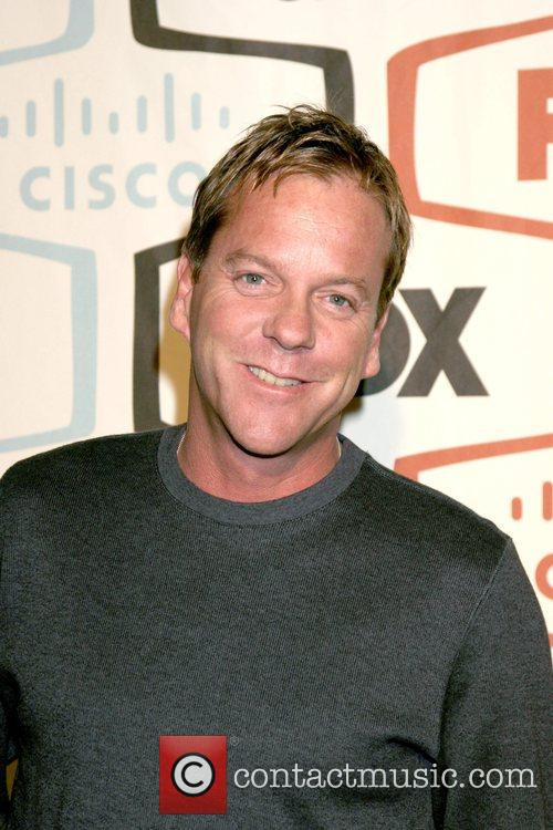 Kiefer Sutherland FOX Fall Eco-Casino Party held at...