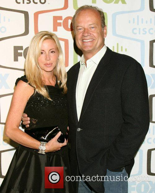Camille Grammer and Kelsey Grammer FOX Fall Eco-Casino...