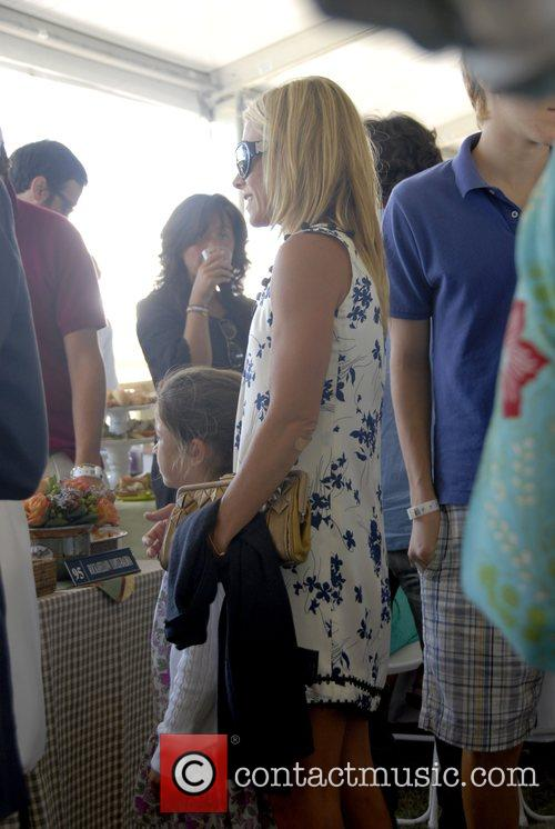 Kelly Ripa and her daughter The Hampton Classic...