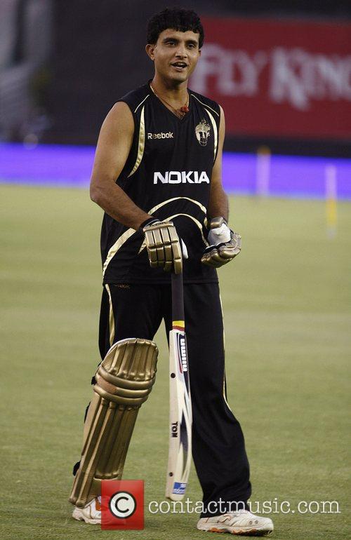 Kumar Sangakkara DLF IPL cricket match between Kolkata...