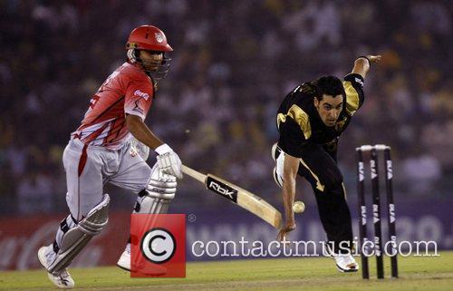 Preity ZintaKolkata Knight Riders player Umer Gul ATTEMPTS...