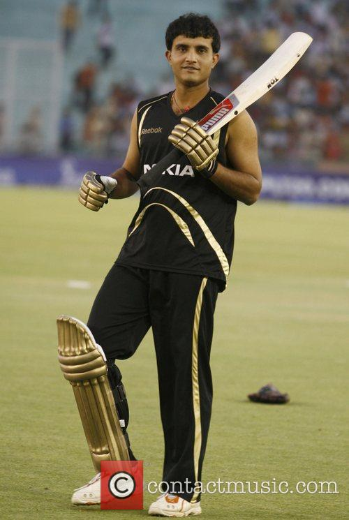 Sourav Ganguly  DLF IPL cricket match between...