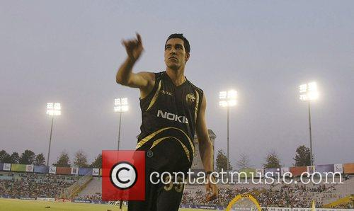Umer Gul  DLF IPL cricket match between...