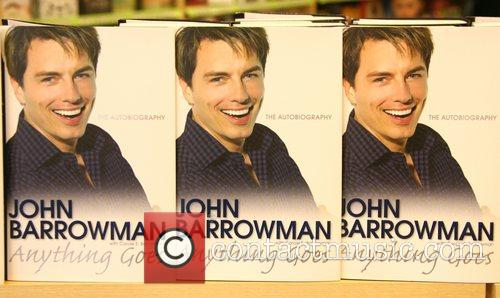 John Barrowman and His Sister Carole Barrowman Sign Copies Of Their New Book 'anything Goes' At Borders Bookstore 3