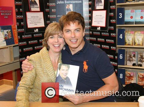 John Barrowman and His Sister Carole Barrowman Sign Copies Of Their New Book 'anything Goes' At Borders Bookstore 10