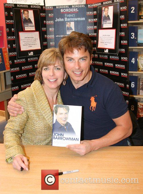 John Barrowman and His Sister Carole Barrowman Sign Copies Of Their New Book 'anything Goes' At Borders Bookstore 7
