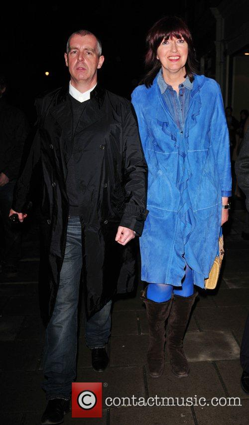 Janet Street Porter and Neil Tennant attend the...