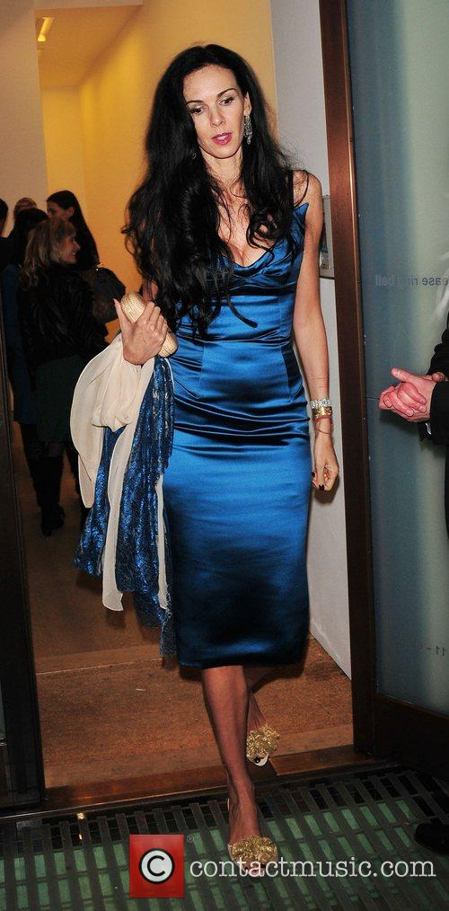 L'Wren Scott attends the launch of the new...