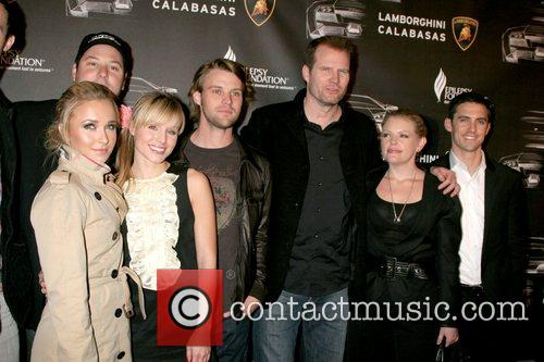 Greg Grunberg, Hayden Panettiere and Jesse Spencer 2