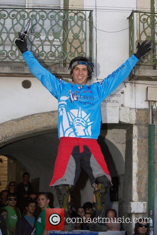 Emanuel Pombo (POR) winner of the Best Portuguese...