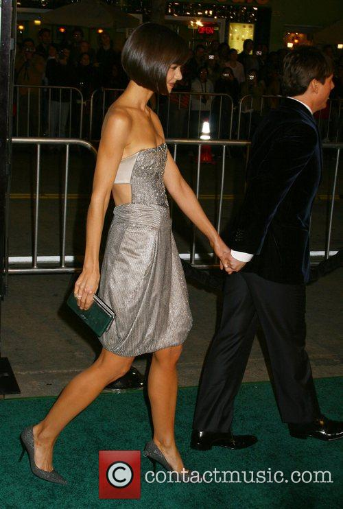 Katie Holmes and Tom Cruise Mad Money Premiere...
