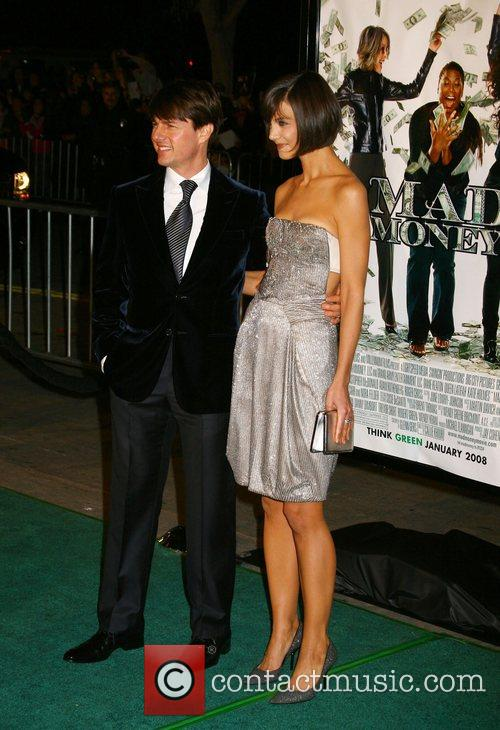 Tom Cruise and Katie Holmes Mad Money Premiere...
