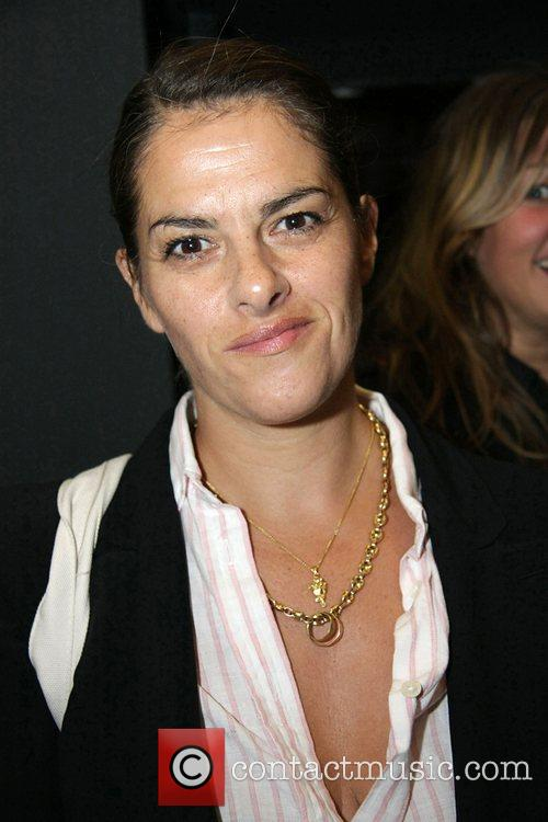Artist Tracy Emin at the private view of...
