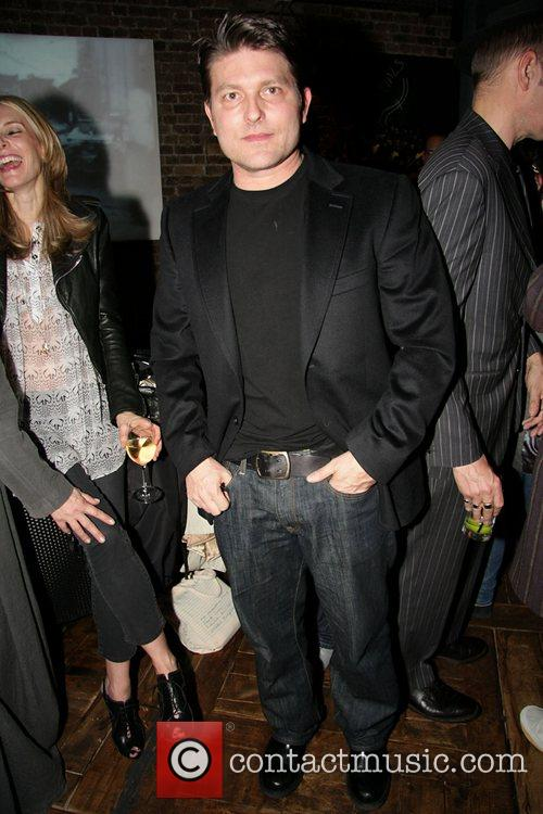 Kenny Goss (George Michael's partner) at the private...