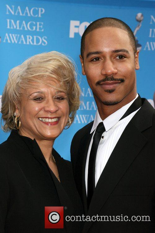 Brian White and Mother