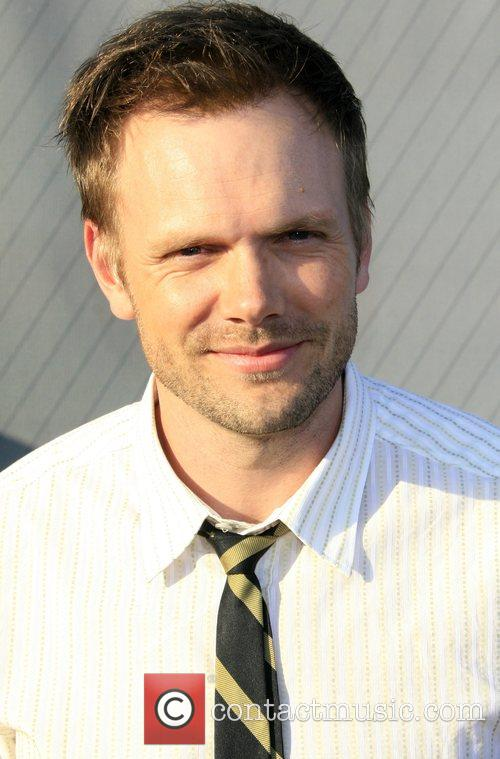 Joel McHale (The IT Crowd) NBC All-Star party...