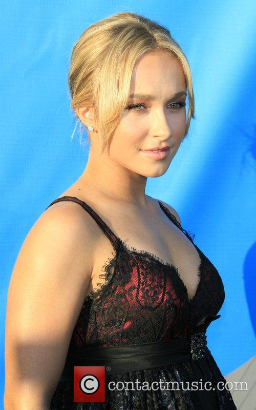Hayden Panettiere NBC All-Star party at the Beverly...