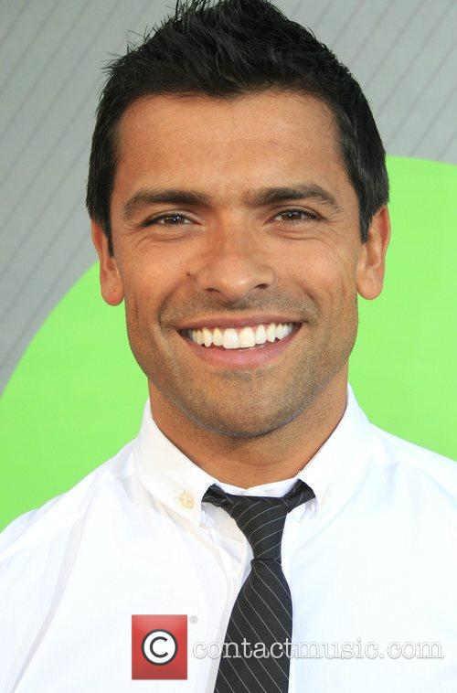 Mark Consuelos NBC All-Star party at the Beverly...