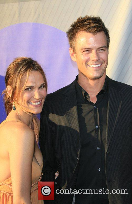 Molly Sims and Josh Duhamel NBC All-Star party...