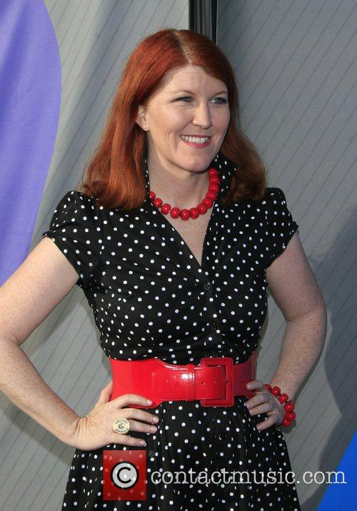 Kate Flannery NBC All-Star party at the Beverly...