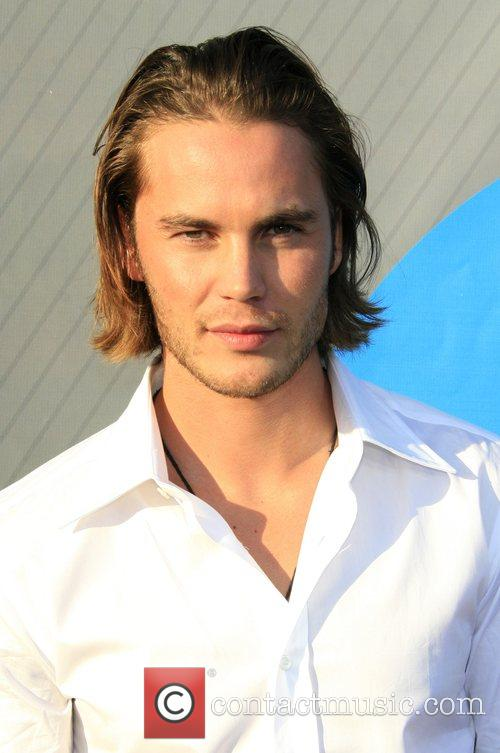 Taylor Kitsch NBC All-Star party at the Beverly...