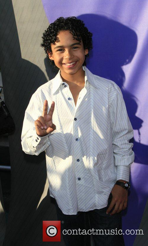 Noah Gray-Cabey NBC All-Star party at the Beverly...