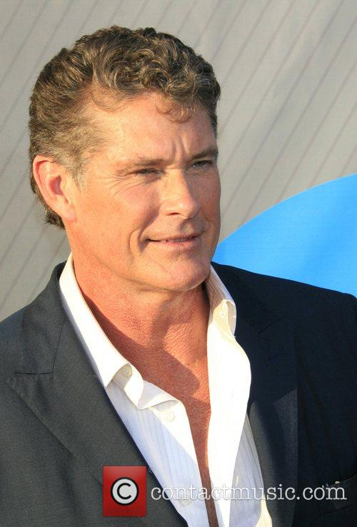 David Hasselhoff NBC All-Star party at the Beverly...