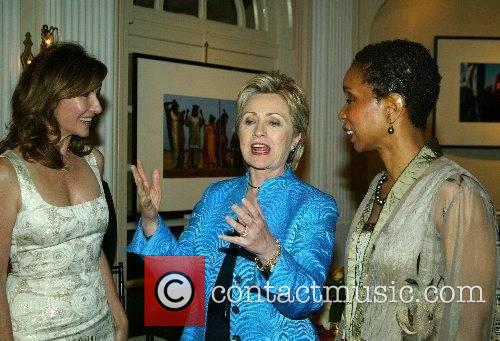 Mary Steenburgen, Hilary Clinton and guest Mary Steenburgen...