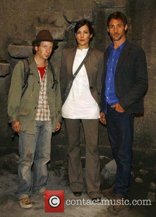 Fabian Busch, Bettina Zimmermann and Benjamin Sadler at...