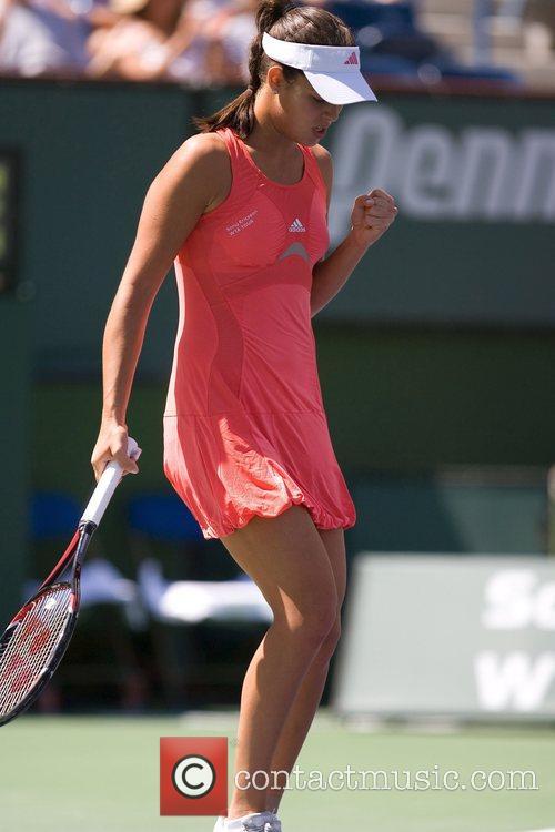Ana Ivanovic(srb)  against Svetlana Kuznetsova(rus) in the...