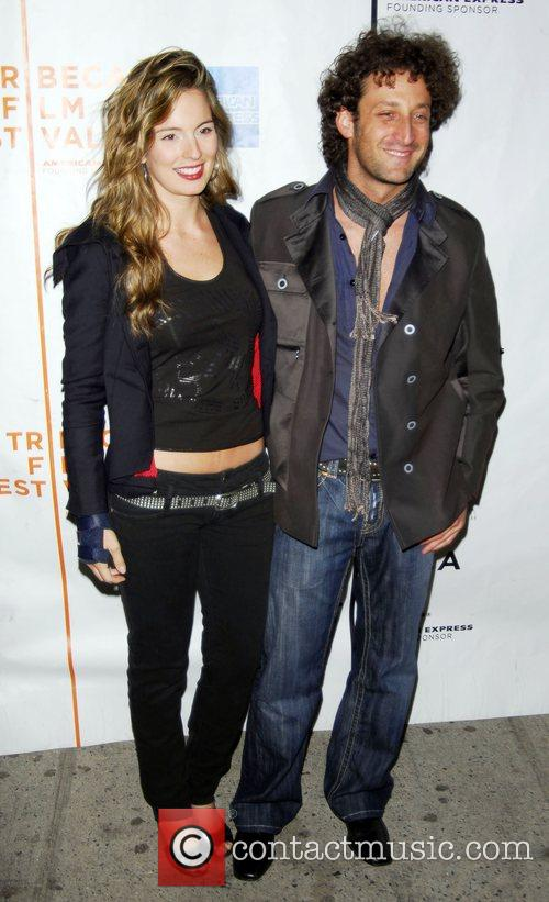 Simon Brand and Guest 7th Annual Tribeca Film...